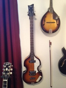 "Hofner 500/1 ""Beatle"" Bass, NAME: Paul"